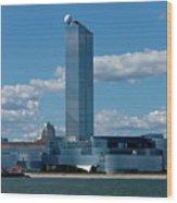 Revel Casino In Atlantic City, New Jersey Wood Print