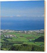 Ribeira Grande - Azores Wood Print