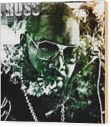 Rick Ross Wood Print