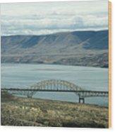 River Bridge Wood Print