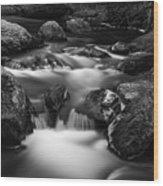 Roaring Brook Wood Print