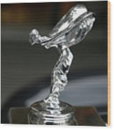 Rolls Royce Hood Ornament Wood Print