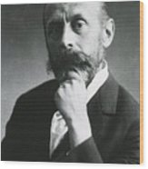 Rudolph Virchow 1821-1902, German Wood Print
