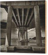 San Marco Bridge Wood Print