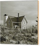 Sandy Neck Lighthouse Wood Print