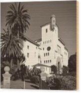 Santa Barbara County Courthouse Wood Print