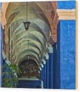 Santa Catalina Convent Arequipa Wood Print