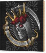 Santa Muerte Wood Print
