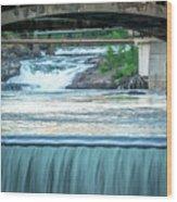 Scenes Around Spokane Washington Downtown Wood Print