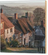 Shaftesbury - England Wood Print