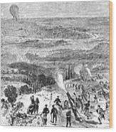 Siege Of Paris, 1870 Wood Print