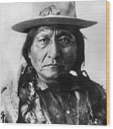 Sitting Bull (1834-1890) Wood Print
