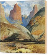 South Utah Wood Print
