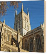 Southwark Cathedral Wood Print