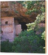 Spruce Tree House - Mesa Verde National Park Wood Print