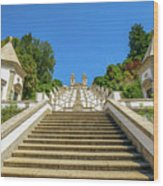 Staircase Of Bom Jesus Do Monte Wood Print