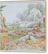 Stannardhenryjohnsylvester Asummersafternoon-we F074 Henry  Sylvester Stannard Wood Print