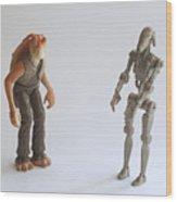 Star Wars Action Figure Wood Print
