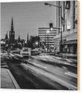 Streets Of Washington Dc Usa Wood Print