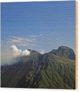 Stromboli Volcano On The Island Of Stromboli Wood Print