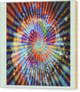 Supernova Of Love Wood Print