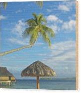 Tahiti, Bora Bora Wood Print
