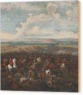 The Battle Of Oudenaarde Wood Print