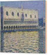 The Doges Palace Wood Print