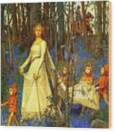 The Fairy Wood Henry Meynell Rheam Wood Print