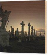 The Graveyard Wood Print