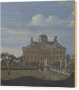 The Huis Ten Bosch At The Hague Wood Print