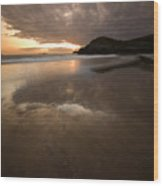 The Low Tide Wood Print