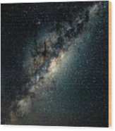 The Milky Way Wood Print