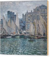 The Museum At Le Havre Wood Print
