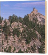 The Needles Lookout Wood Print