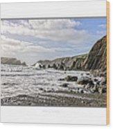 The Pembrokeshire Coast Wood Print