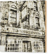The Prospect Of Whitby Pub London Vintage Wood Print