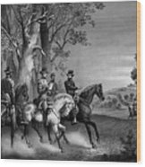The Surrender Of General Lee Wood Print