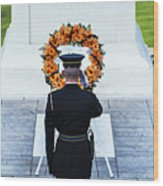 Tomb Of The Unknown Soldier Wood Print by John Greim