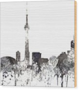 Toronto Ont.skyline Wood Print