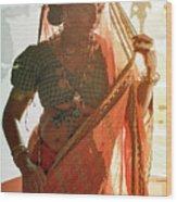 Tribal Beauty Of India Wood Print