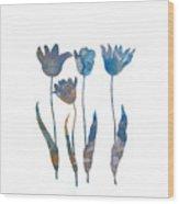 Tuilps Wood Print