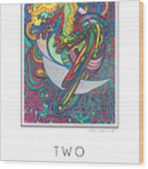 Two Edged Sword Wood Print