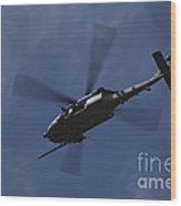 U.s. Air Foce Hh-60g Pave Hawk Wood Print