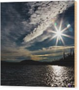 Waldo Lake Wood Print