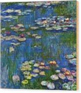 Water Lilies 1916 Wood Print