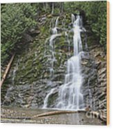 Waterfall, Quebec Wood Print