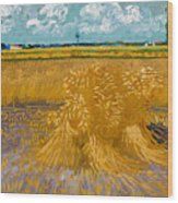 Wheat Field Wood Print