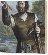 William Tell Wood Print by Granger