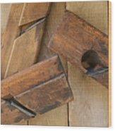 3 Wood Planes Wood Print
